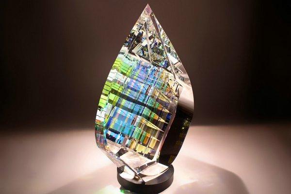 скульптуры из стекла