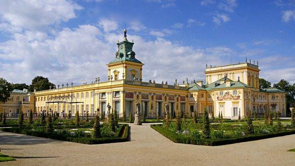 дворец яна собеского вилянув