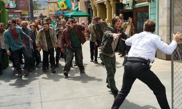 аттракцион Ходячие мертвецы в Голливуде