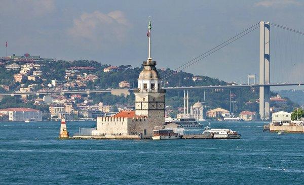 Леандрова башня Стамбул