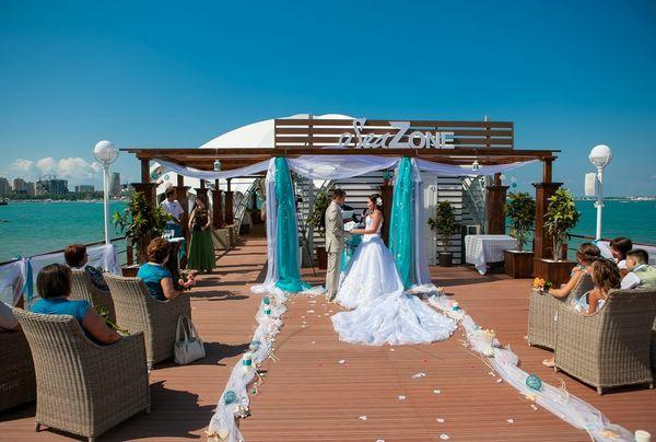 Отель Приморье, как сделать свадьбу незабываемой