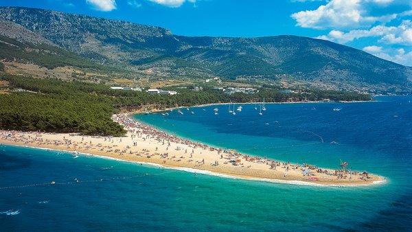 лучшие пляжи хорватии золотой рог