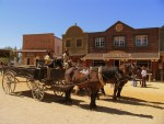 Тематический парк развлечений Мини-Голливуд в пустыне Табернас, Испания
