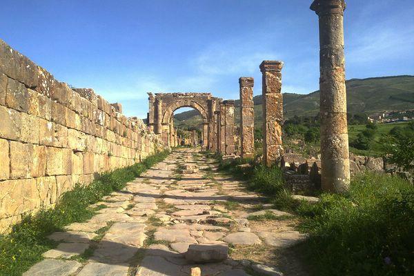 древнеримский города джемила