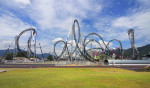 Takabisha — самый крутые в мире американские горки в парке Fuji-Q High Land, Япония