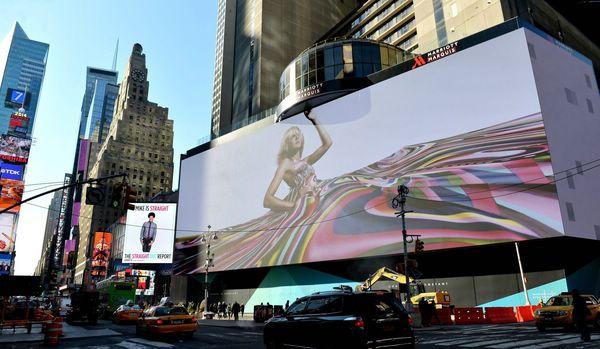 экран diamond vision на таймс сквер