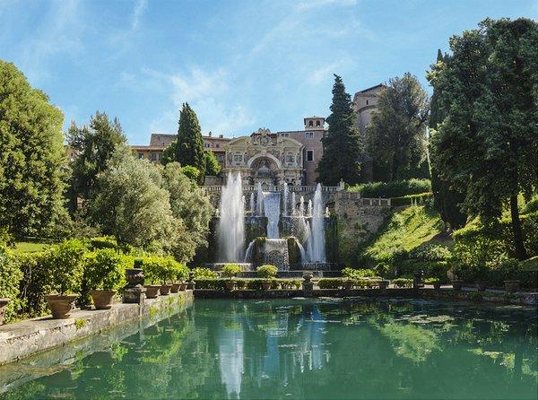 Великолепная Вилла д'Эсте в Тиволи, Италия