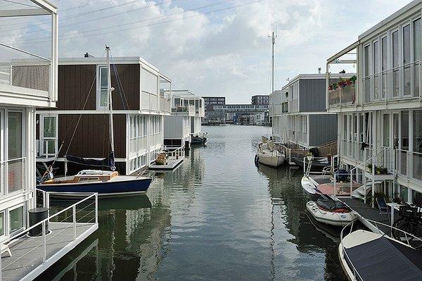 район Waterbuurt амстердам
