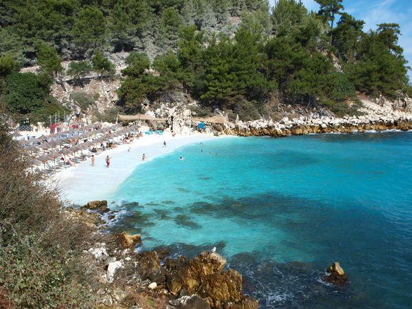 пляжи на острове тасос греция