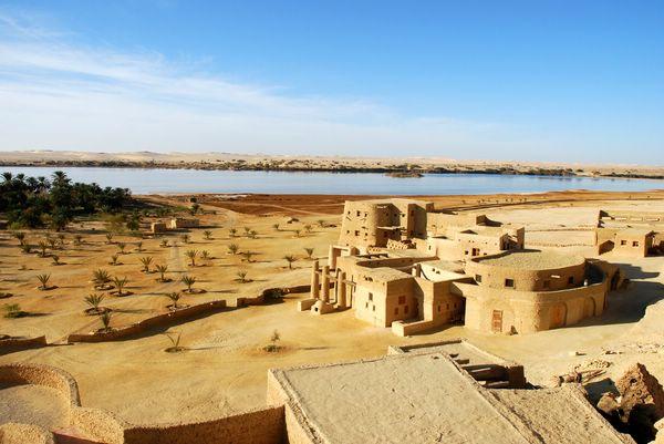 Adrere Amellal— необычный эко-отель в оазисе Сива, Египет