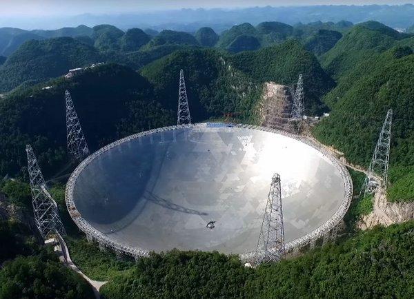 fast самый большой в мире телескоп