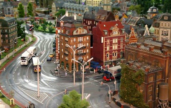 Миниатюрная страна чудес в Гамбурге, Германия