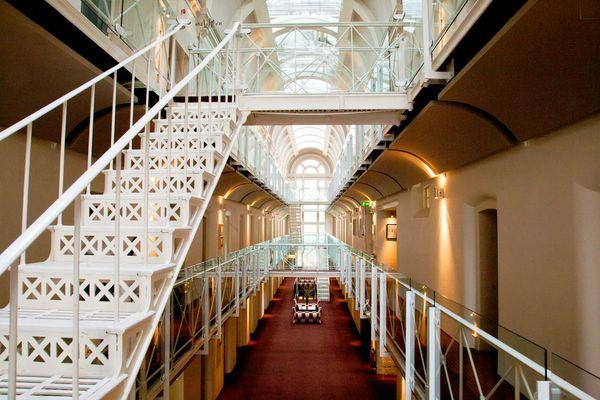 отель в тюрьме Malmaison Oxford castle