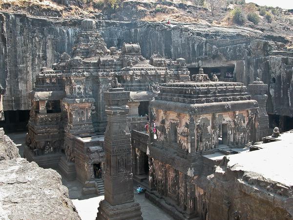 храмы индии Кайласанатха