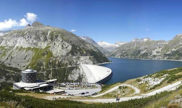самые большие в мире плотины kolnbreinsperre