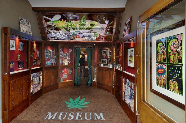 Mузей марихуаны в амстердаме