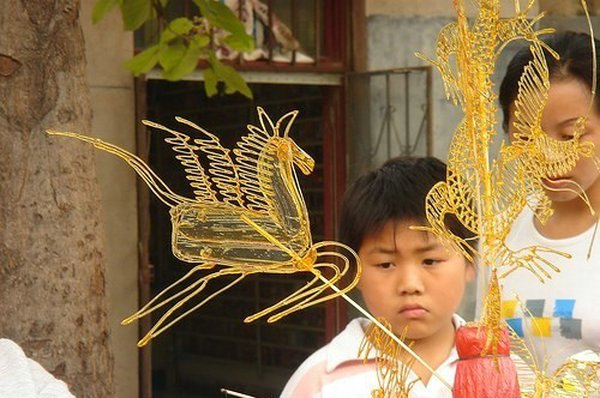 Карамельная живопись танхуа
