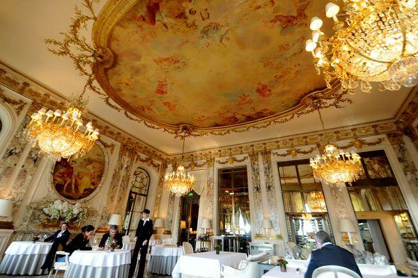 лучшие отели парижа Le Meurice