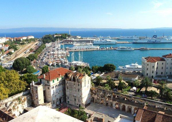 курорты хорватии сплит