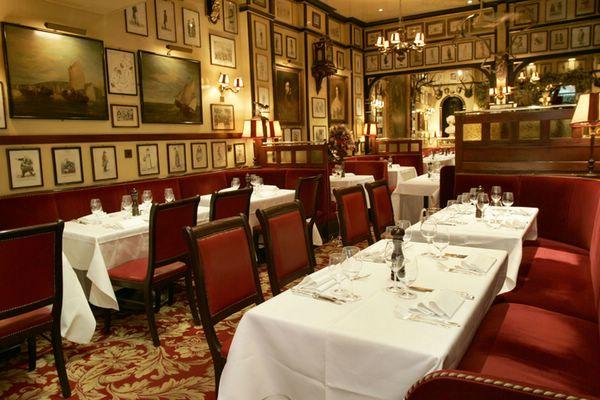 лучшие рестораны лондона рулс