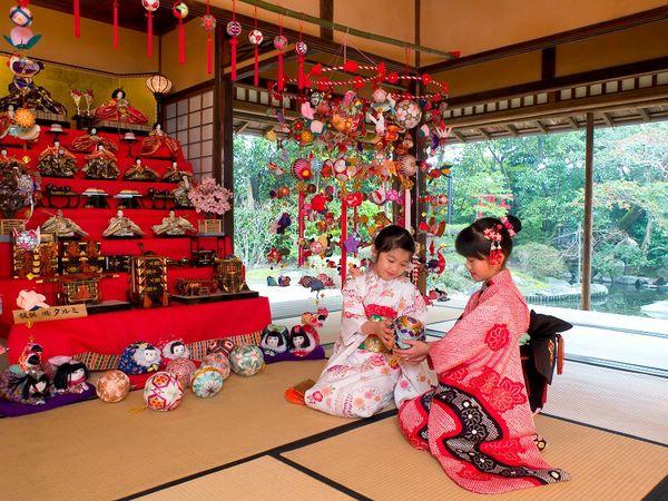 японские праздники Хинамацури