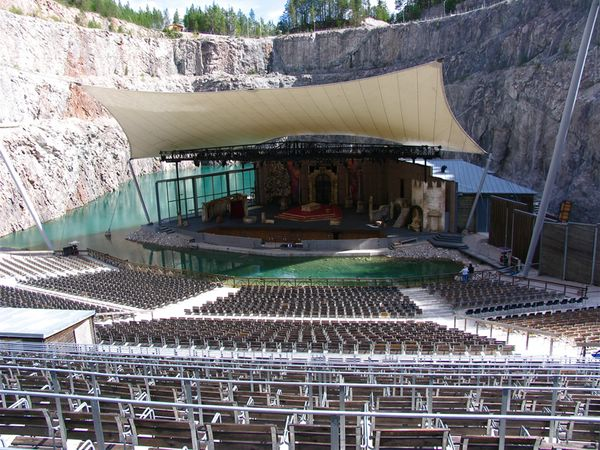 необычные концертные залы мира театр Дальхала