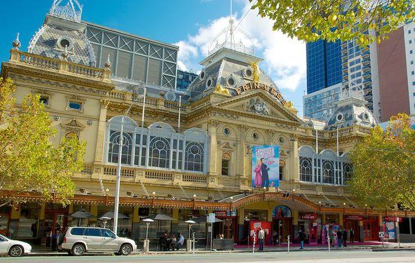 достопримечательности мельбурна Театр Принцесс