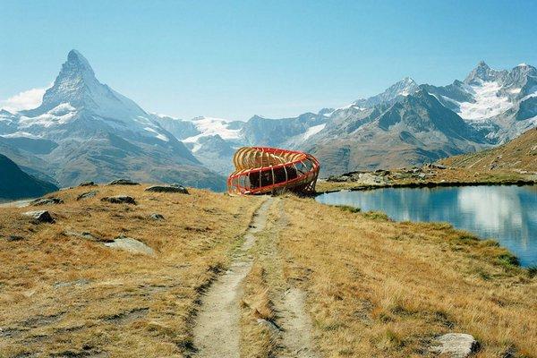 Смотровая площадка Evolver на швейцарском курорте Церматт