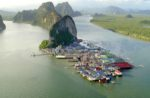 Деревня Ко-Пани — плавучий рыбацкий остров в Таиланде