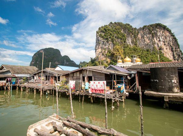 плавучая деревня ко пани таиланд