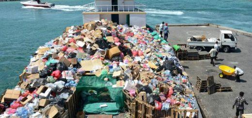 мусорный остров Тилафуши Мальдивы