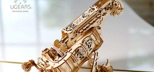 деревянный конструктор Hurdy-gurdy UGears