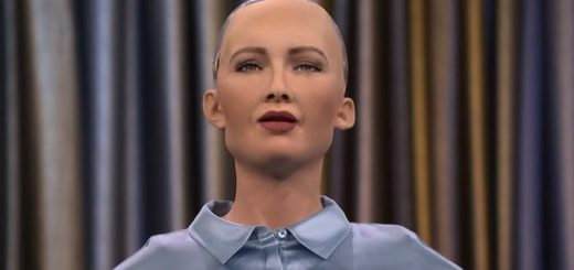 робот софия фото