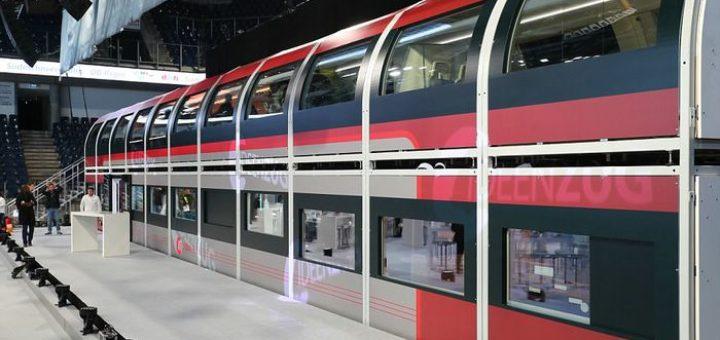 поезд на автопилоте Idea Train