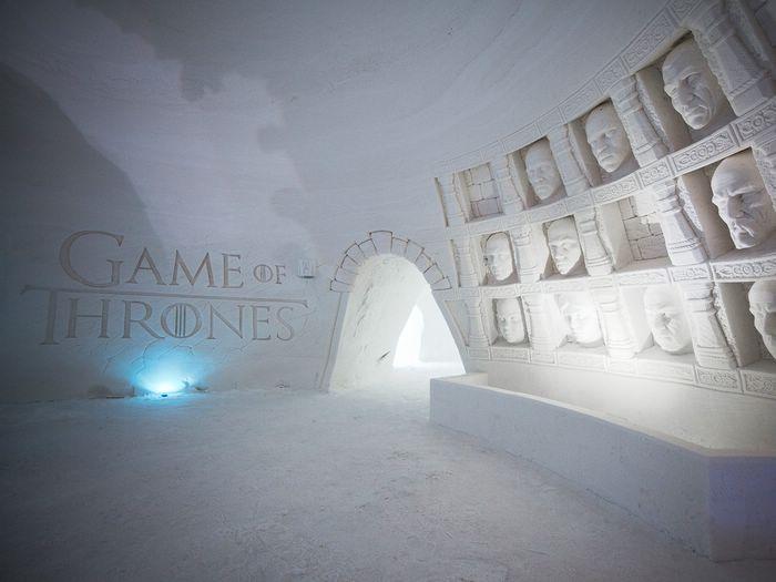 финляндия Ледяной отель Игра Престолов