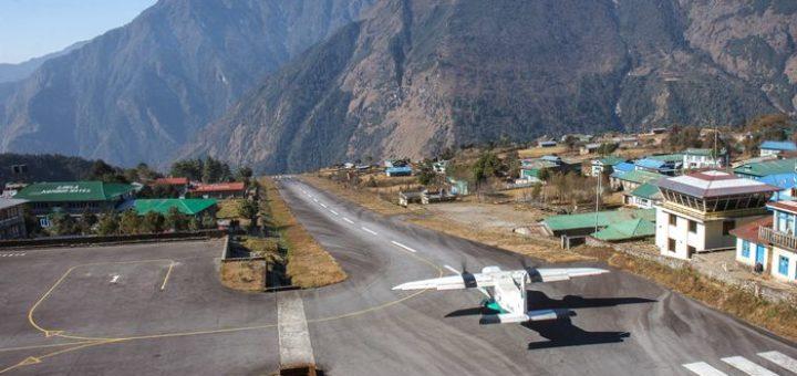 аэропорт Лукла в Непале