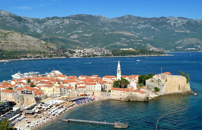 лучшие курорты черногории пляжный отдых
