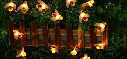 Садовые пчелы LED-гирлянда