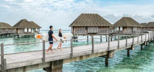 сёрф-кэмп на Мальдивских островах